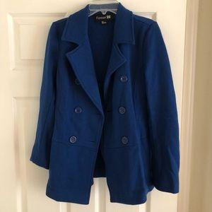Size Small Blue Pea Coat